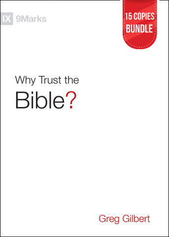 Why Trust the Bible? Small Group Bundle (15 Copies)