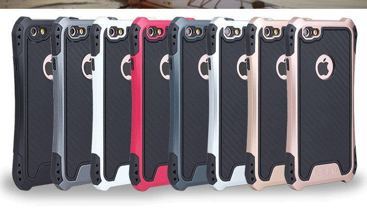 Shockproof Dual Layer Protection Armor Case With Bumper For Apple iPhone 7 & 7 Plus
