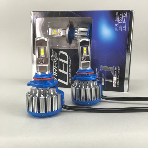 Cree LED Headlight Kit 70W & 7200Lm/Set Single Beam Bulb, Color Xenon White 6000K