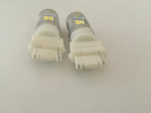 2Pcs LED 2835-21SMD Projector Auto Light Bulbs, Color White 6000K