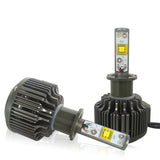 Philips Luxeon MZ 7200Lm & 60W/Set Auto LED Headlight Kit or Fog Light, Color Cool White 6000K