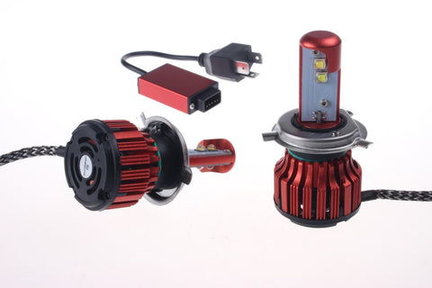Super Bright 2016 US Cree 12000LM 80W/Set Auto LED Headlight Kit Dual Beam Hi/Lo - Color 5500K / 6000K