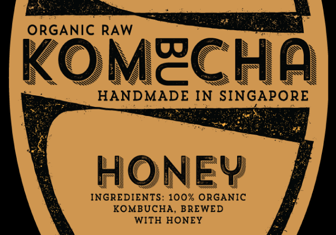 Honey Kombucha 330mL - Bushwick—Singapore's Original Kombucha, Probiotics, Kefir, Bulletproof, Keto, Organic