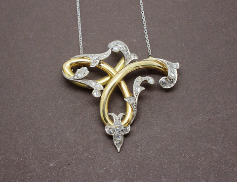Collier 1900 Or et Diamant