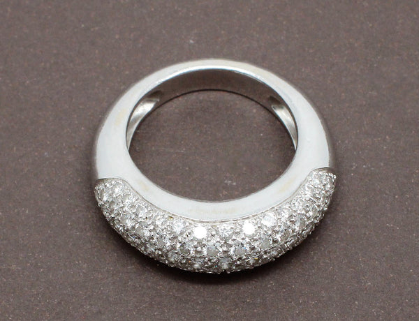 Bague Jonc Pavage Diamants
