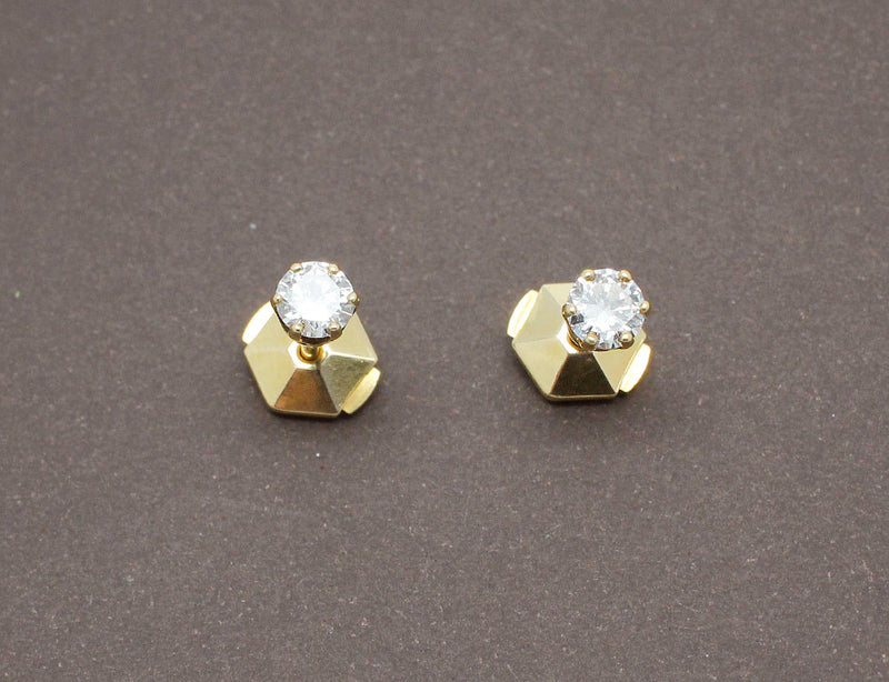 Puces d'Oreilles en Diamants