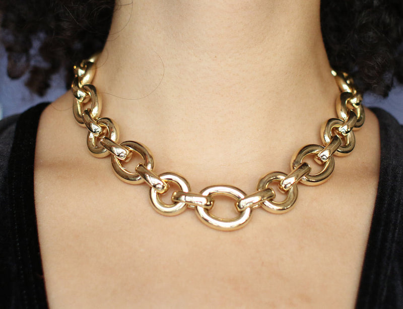 "Collier ""Lien"" Chaumet Or Jaune"