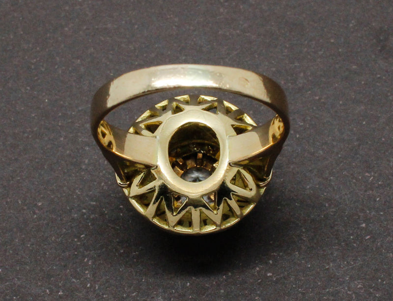 "Bague ""Dôme"" 1950 Diamants"