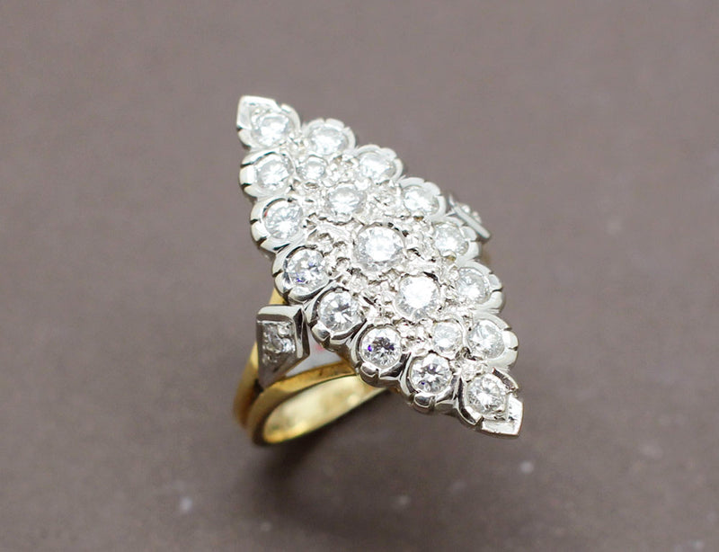 Bague Marquise Diamants