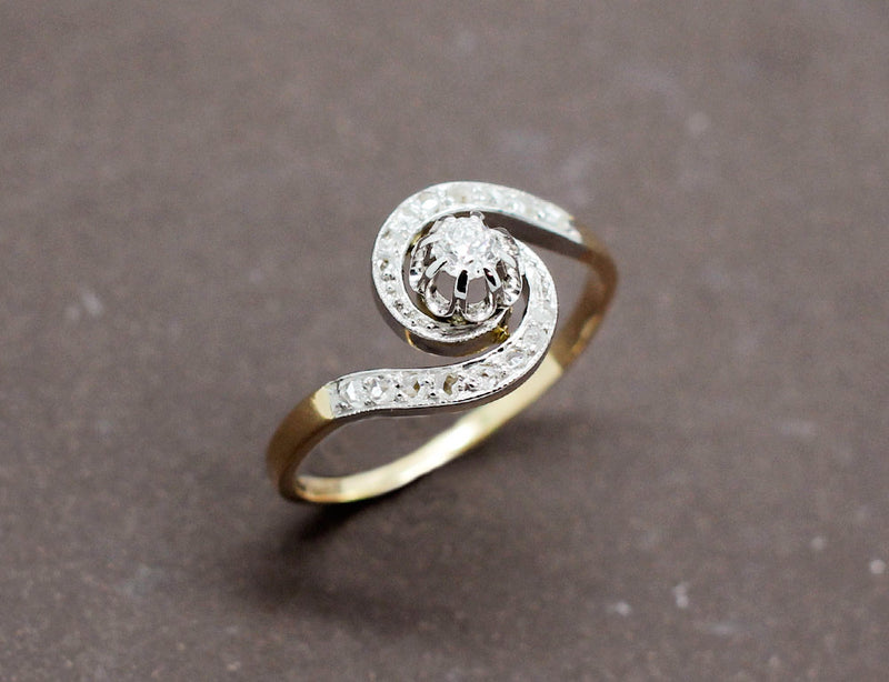 Bague Tourbillon Diamants