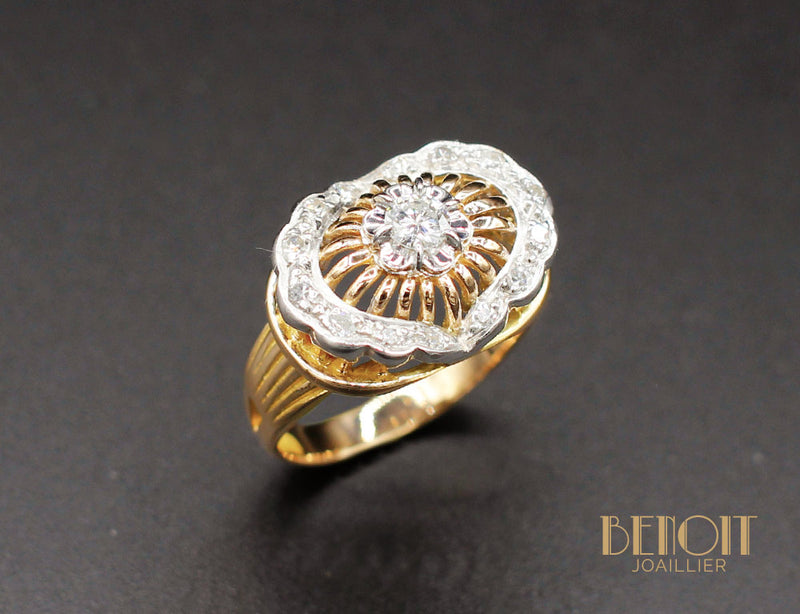 Bague 1950 Or Diamants