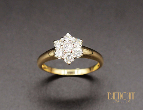 Bague Marguerite Diamants