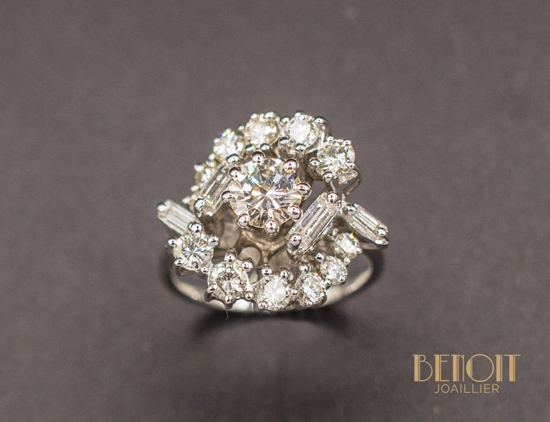 Bague Cocktail Diamants
