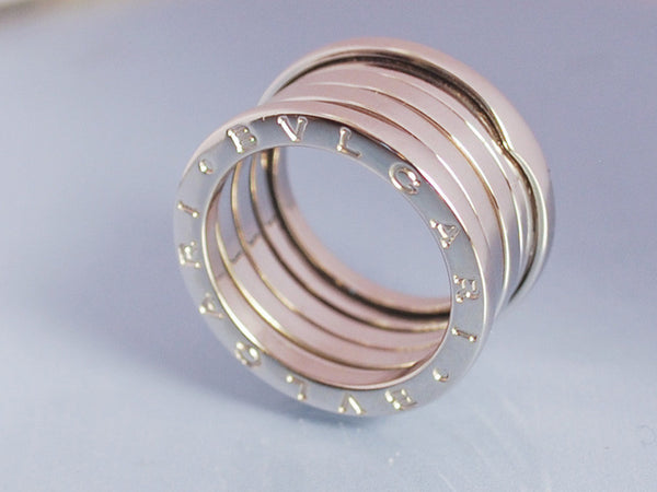 Bague Bulgari Or blanc