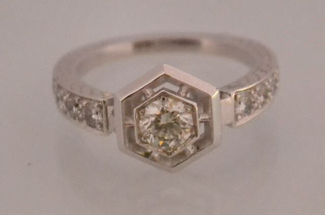 "Bague Diamants  ""Benoitjoaillier"""