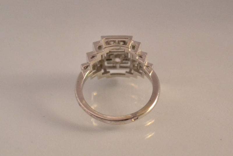 Bague Diamants et Or Blanc