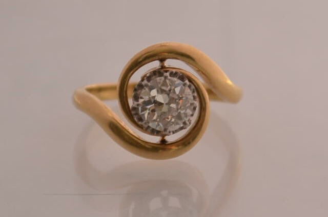 Bague Tourbillon Diamant