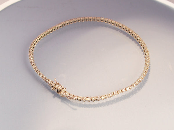 Bracelet diamants 1,2 carat