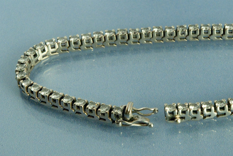 Bracelet ligne de Diamants