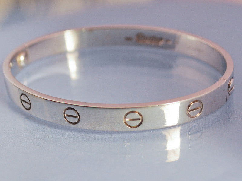 Bracelet Love Cartier or blanc