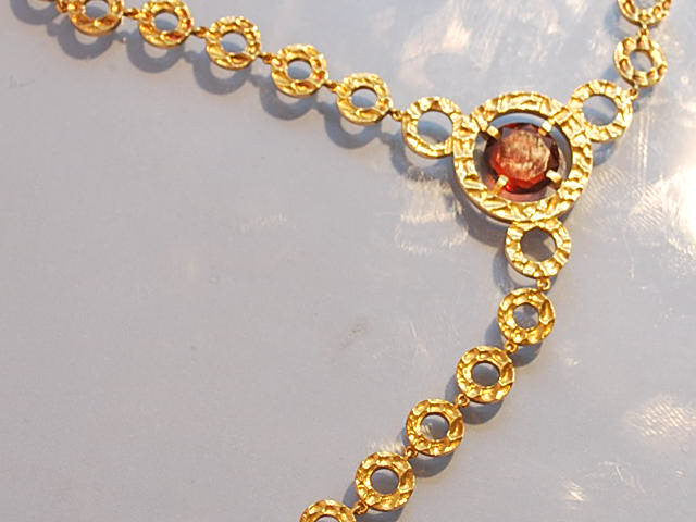 Collier boucheron Tourmaline et or jaune