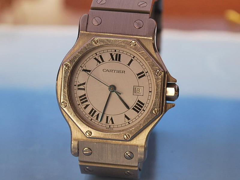 montre Cartier santos automatique