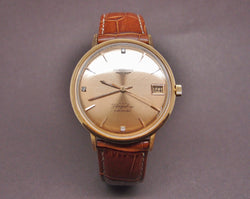 Montre Longines Flagship or 18 k , cal. 345