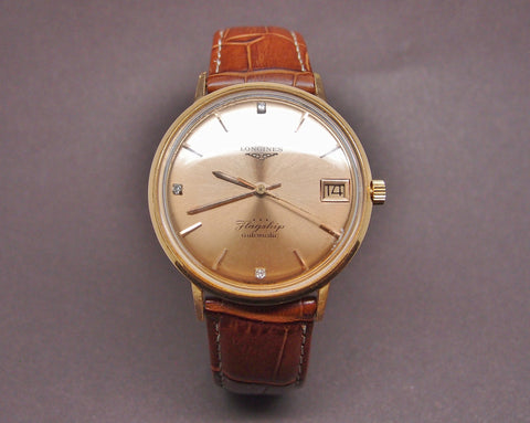 "Montre Longines ""Flagship"" Or Rose 1960"