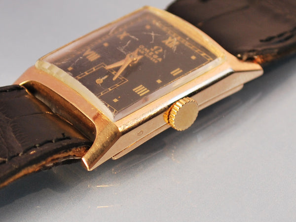 Montre omega ancienne or rose