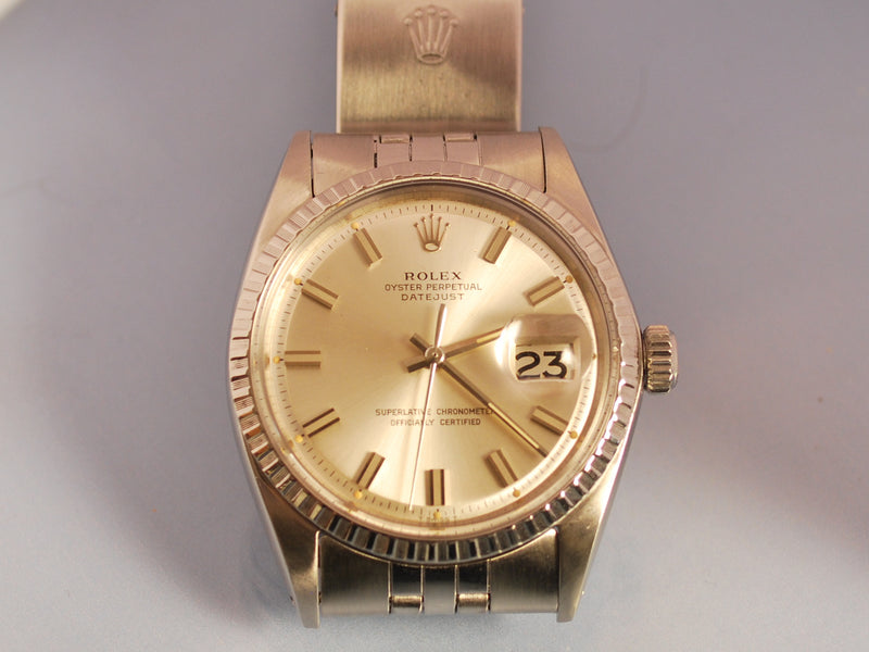 Montre Rolex Oyster Perpetual date Just