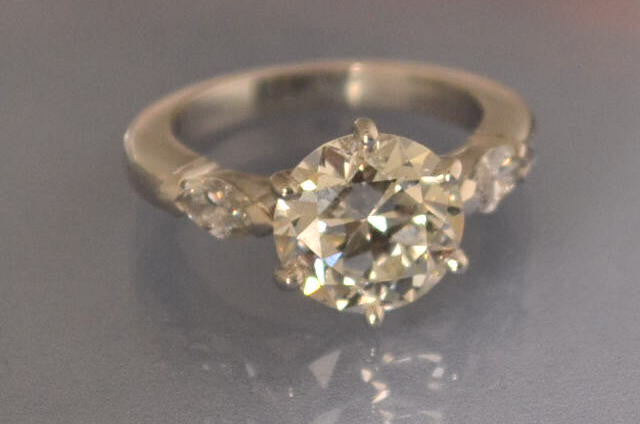solitaire Diamants 3 carat