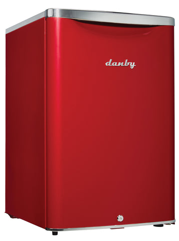 DAR026A2LDB - 2.6 cu. ft. Compact Fridge - Red