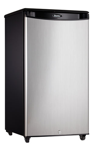 DAR033A1BSLDBO - 3.3 cu. ft. Outdoor Rated Compact Fridge - Stainless Steel