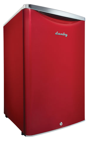 DAR044A6LDB - 4.4 cu. ft. Compact Fridge - Metallic Red