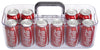 DBBOX10C - Portable Drink Caddy - Clear