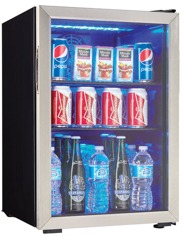 DBC026A1BSSDB-SD - 95 Can Blemished Beverage Center - Stainless Steel