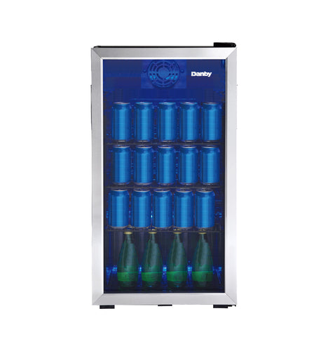 DBC117A1BSSDB-6 - 117 Can Beverage Center - Stainless Steel