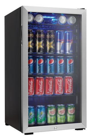 DBC120CBLS - 120 Can Beverage Center - Stainless Steel