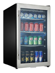 DBC434A1BSSDD-SD - 124 Can Blemished Beverage Center