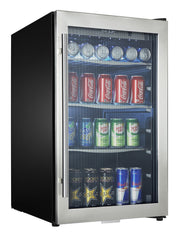 DBC434A1BSSDD - 124 Can Beverage Center - Stainless Steel