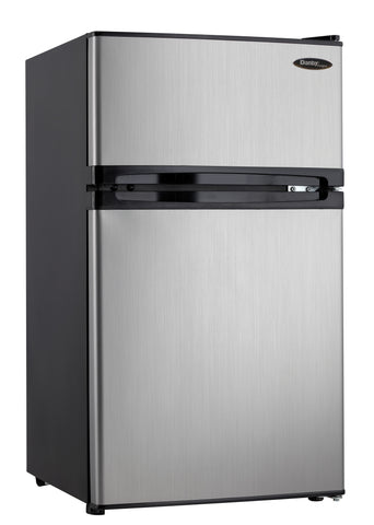 DCR031B1BSLDD - 3.1 cu. ft. 2 Door Compact Fridge - Spotless Steel