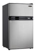DCR031B1BSLDD - 3.1 cu. ft. 2 Door Bar Refrigerator - Spotless Steel