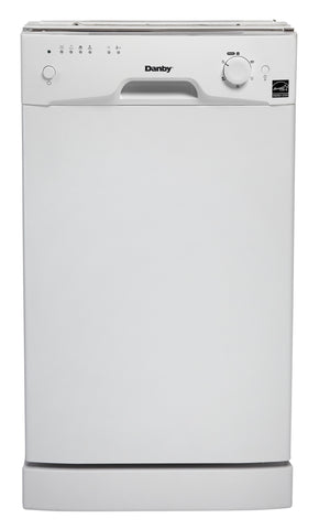 DDW1801MW - Built-In 8 Place Setting Dishwasher - White