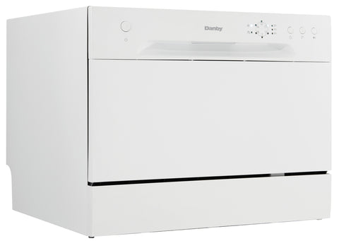 DDW621WDB - 6 Place Setting Countertop Dishwasher - White