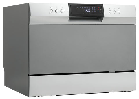 DDW631SDB - 6 Place Setting Countertop Dishwasher - Stainless Steel