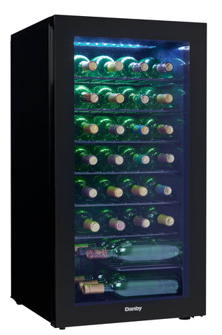 DWC036A2BDB-6 - 36 Bottle Wine Cooler - Black