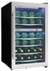 DWC040A3BSSDD-RM - 38 Bottle Remanufactured Certified Wine Cooler