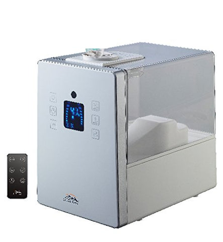 HF710-W - Heaven Fresh Digital Ultrasonic Cool & Warm Mist Humidifier with Aroma Function - White
