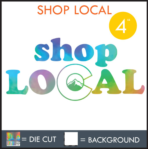 "HAZE ""SHOP LOCAL"" DECAL"