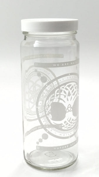16 oz. Jar - Tree of Life - Vibe Bottle